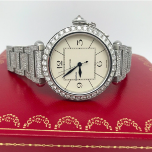 Cartier Pasha full diamond