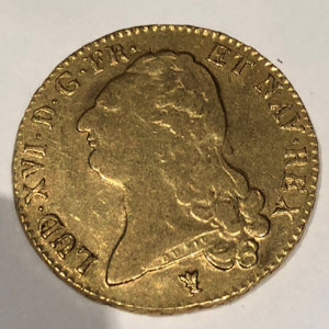 DOUBLE LOUIS D'OR 1786 Atelier I