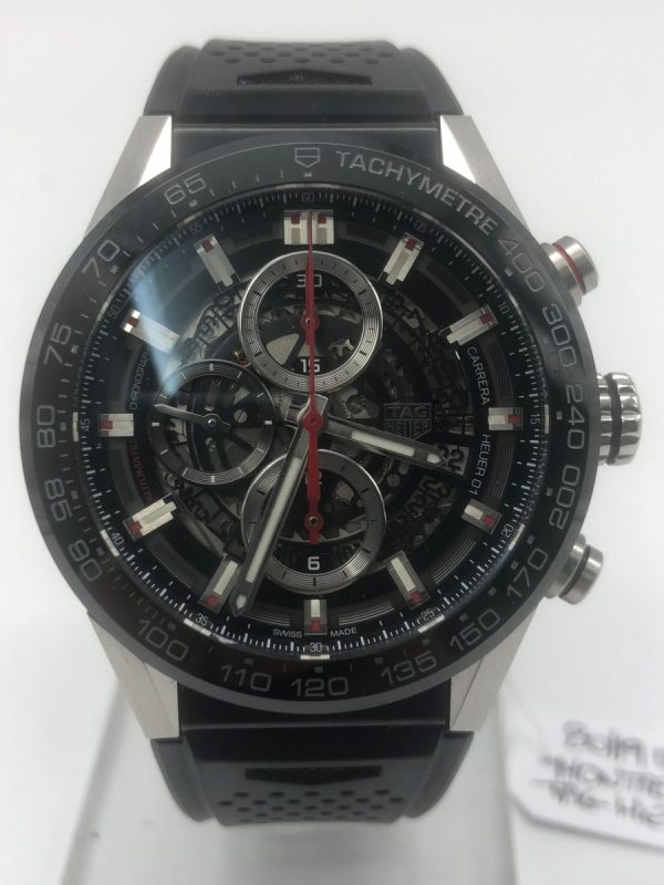 """TAG Heuer Carrera Calibre HEUER 01 Calibre Heuer 01 CAR201V.FT6046"