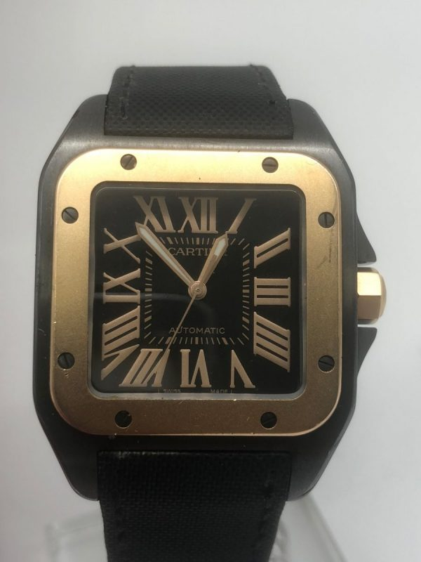 Cartier 2656 black PVD ref W2020009 or