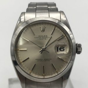 Rolex date oyster ref 1500 achat or