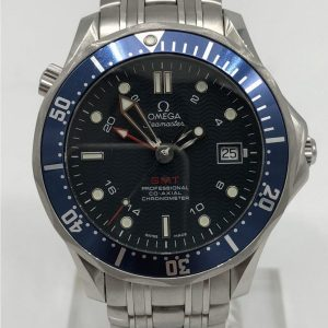 Omega Seamaster GMT Special Boat Service strength and guile