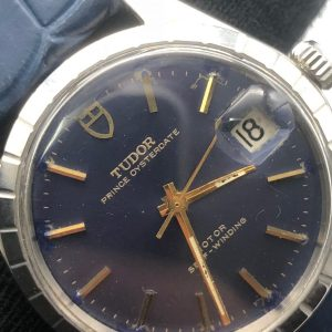 Tudor Prince blue Oyster date ref 9050 achat or