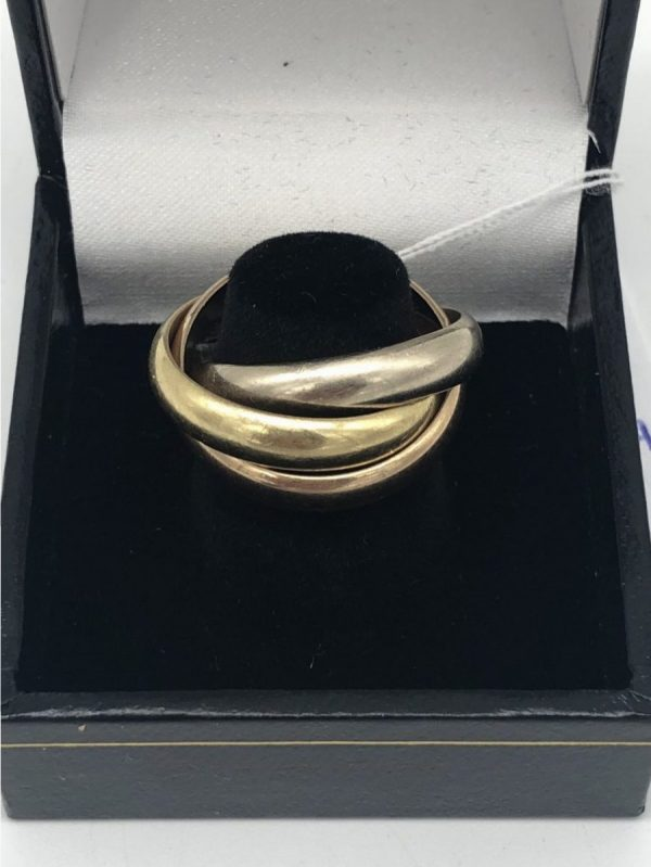bague trinity cartier taille 53