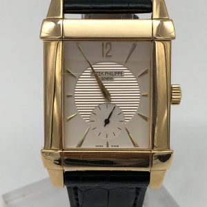 Patek Philippe Gondolo 18K gold box and paper ref 5111