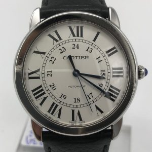 Cartier Ronde solo ref 3939 achat or