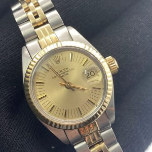 Rolex Datejust ref 6917 achat or