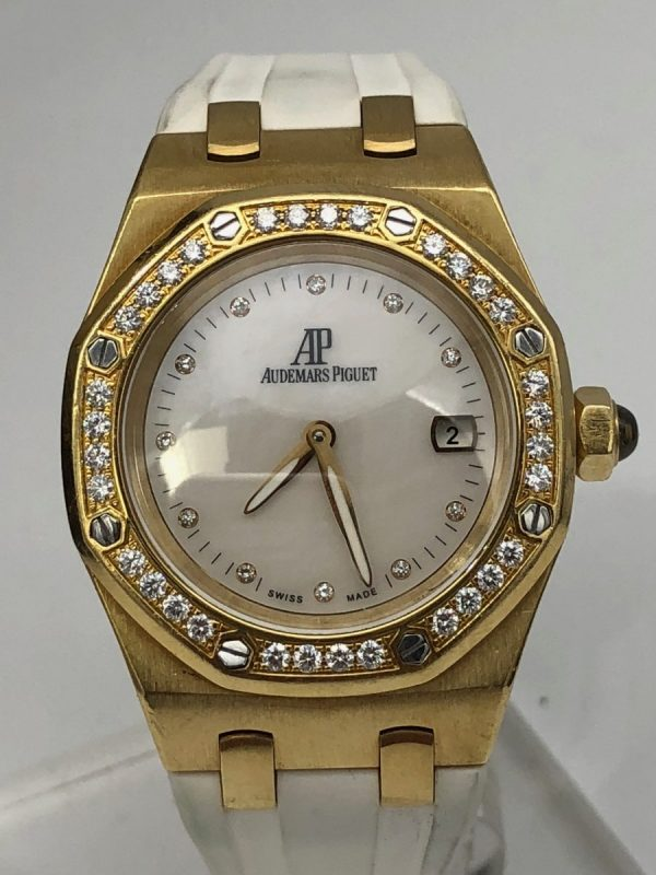 Audemars Piguet Royal Oak Lady gold diamonds 6701BA.ZZ.D012CR03