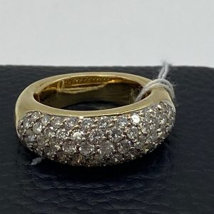 Bague or et diamants 18k