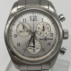 Bell & ross vintage chronograph medium 34mm ref 220s