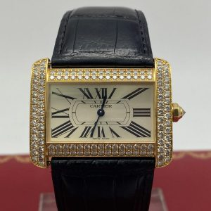 Cartier Divan Gold 18K 2602 diamants achat or