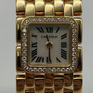 Cartier Ruban Panthere ref 2421 Gold 18K diamants