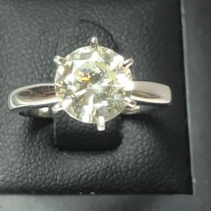 solitaire diamants 1,92 carat