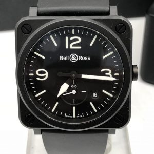 Bell & Ross ceramic BRS-64 black