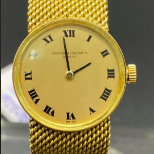 Vacheron Constantin or 18K Mecanique 19mm Lady