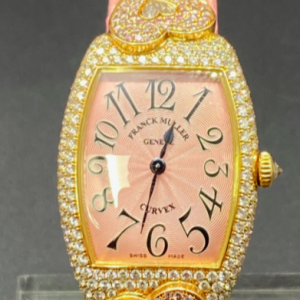 Franck Muller Curvex 18k diamants