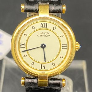 Cartier vermeil Must 24 mm