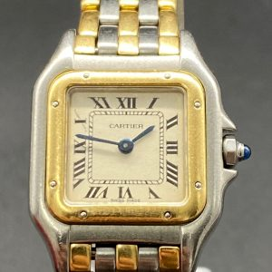 Cartier Panthere 3 rangs or et acier 27mm