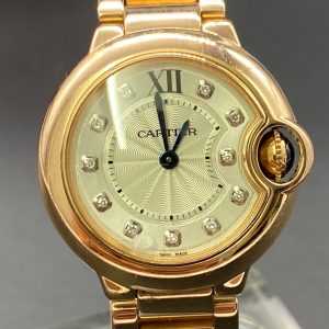 Cartier Ballon bleu rose gold ref 3007 2015 28MM
