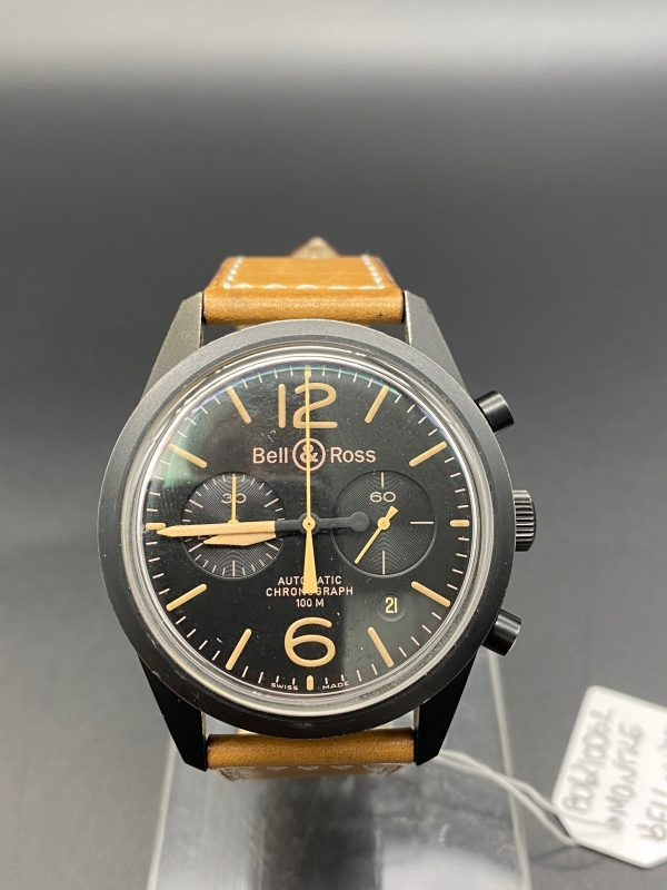 bell & ross chronograph BR 126 94 SC heritage