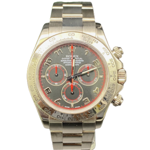 Rolex 116509 Daytona Full set Serie F Or gris