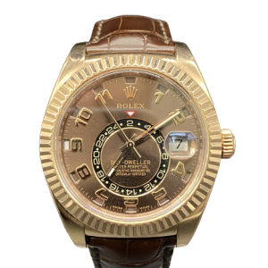 Rolex Sky dweller ref 326135 Or rose